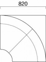 メリル 扇角コーナー 図面